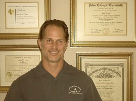 A chiropracter serving both Bristol, VA & TN